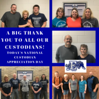 It's Custodian Appreciation Day