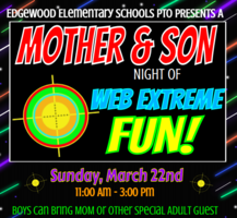 CANCELLED- Mother and Son Event- March 22