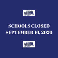 School Cancelled Due to Active Threat (September 16, 2020)
