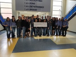FFA National Officers Visit Edgewood