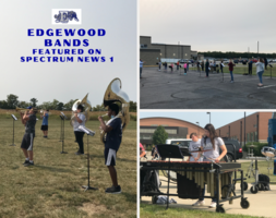 Edgewood Marching Cougars and 8th Grade Band Makes the News
