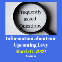 Frequently Asked Questions About the Upcoming Levy