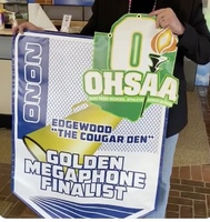 EHS Cougar Den Recognized as a Golden Megaphone Finalist