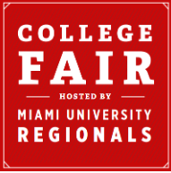 Miami University College Fair graphic