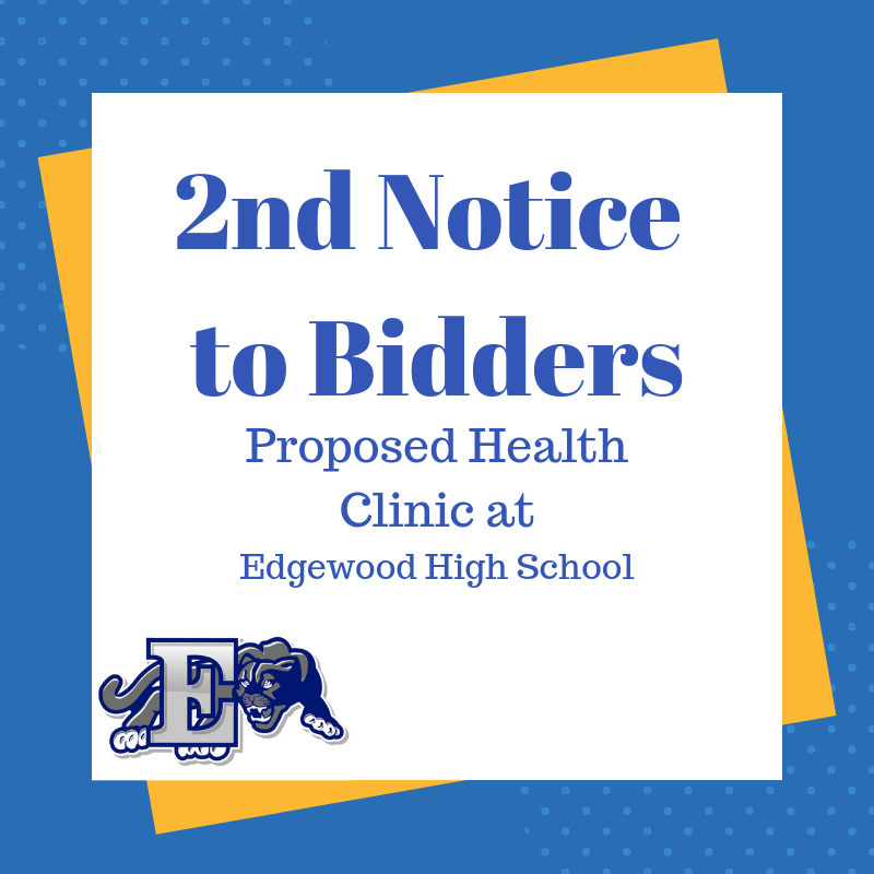 2nd Notice to Bidders graphic