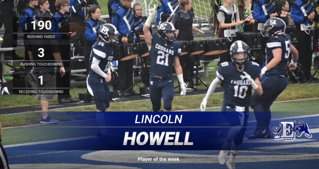 Image of Lincoln Howell football player