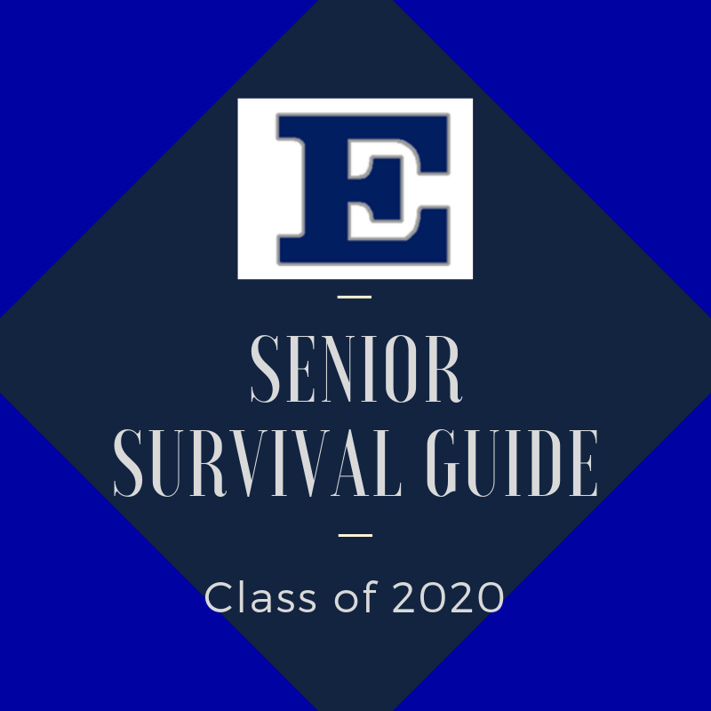 senior survival guide graphic