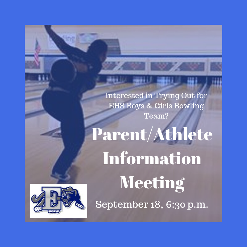 Parent Athlete Information Meeting graphic