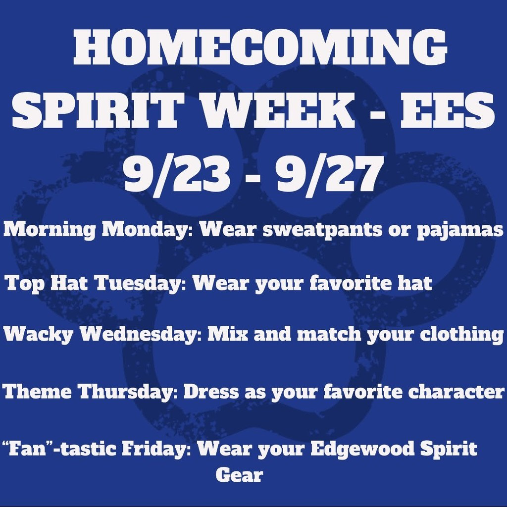 Homecoming Spirit Week at EES