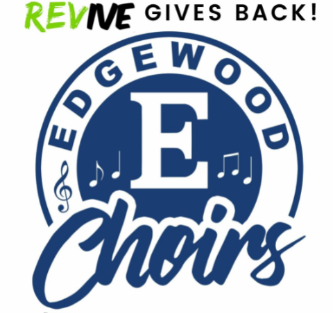 Choir fundraiser with REVive graphic