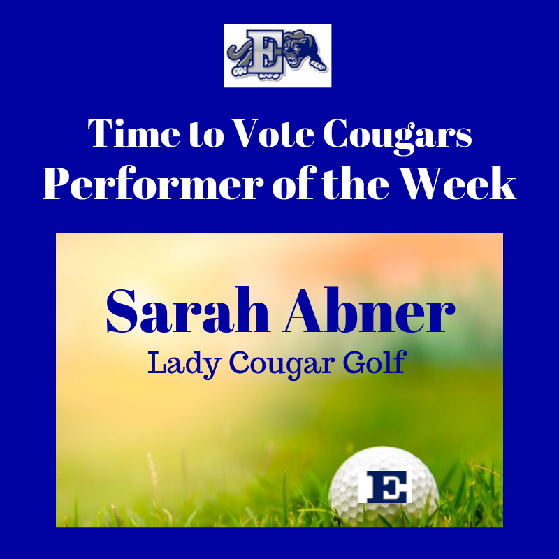 Performer of the Week graphic