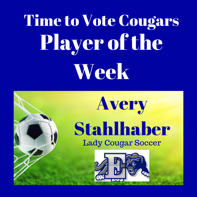 Player of the Week Avery S graphic