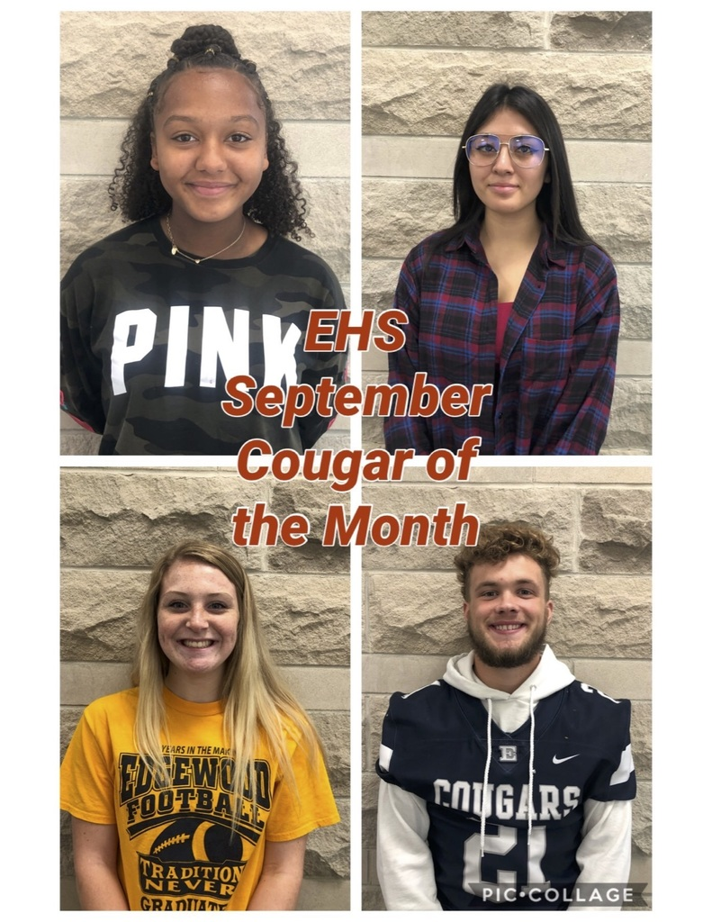 EHS - September Cougar of the Month