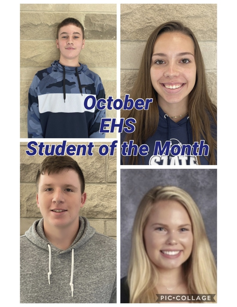 October EHS Student of the Month