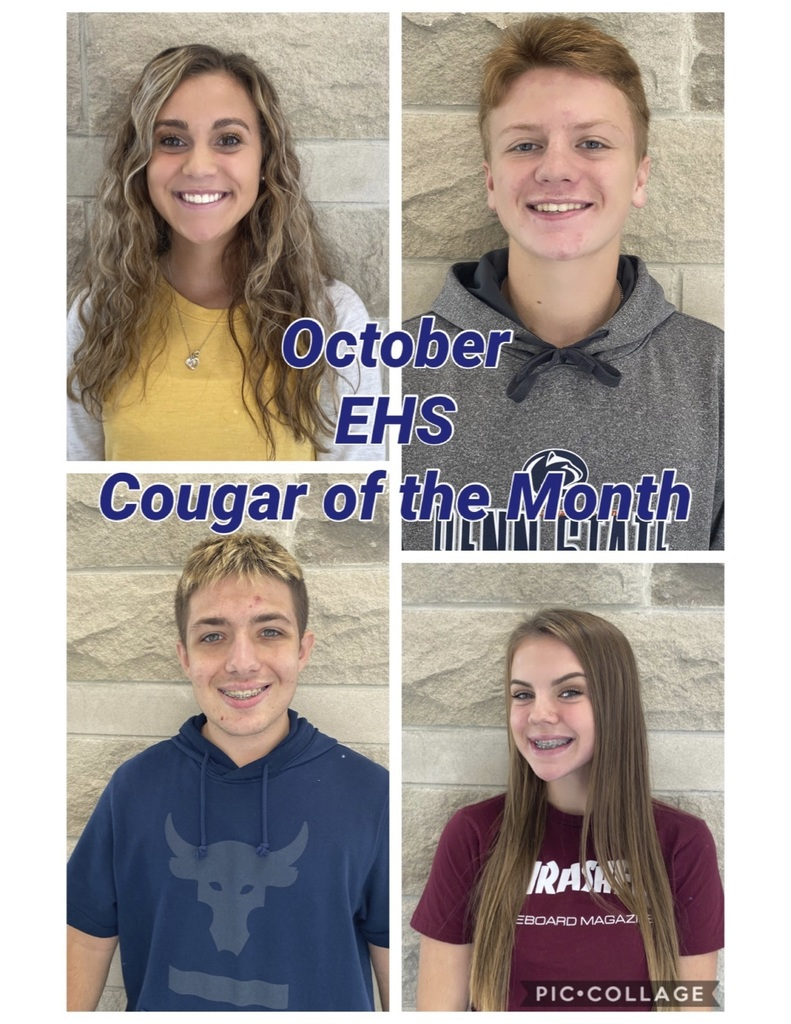October EHS Cougar of the Month