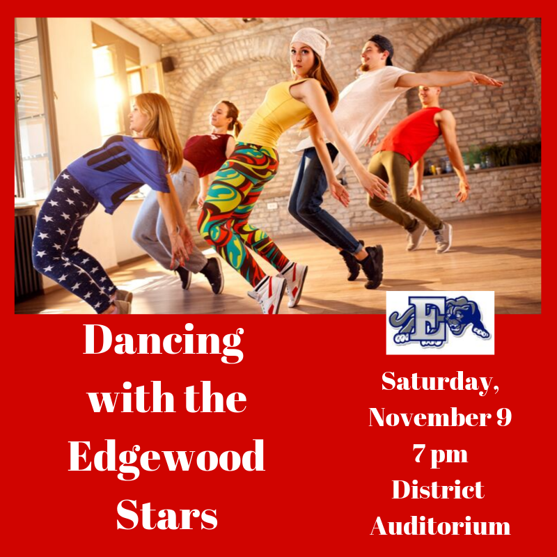 Dancing with the Edgewood Stars graphic