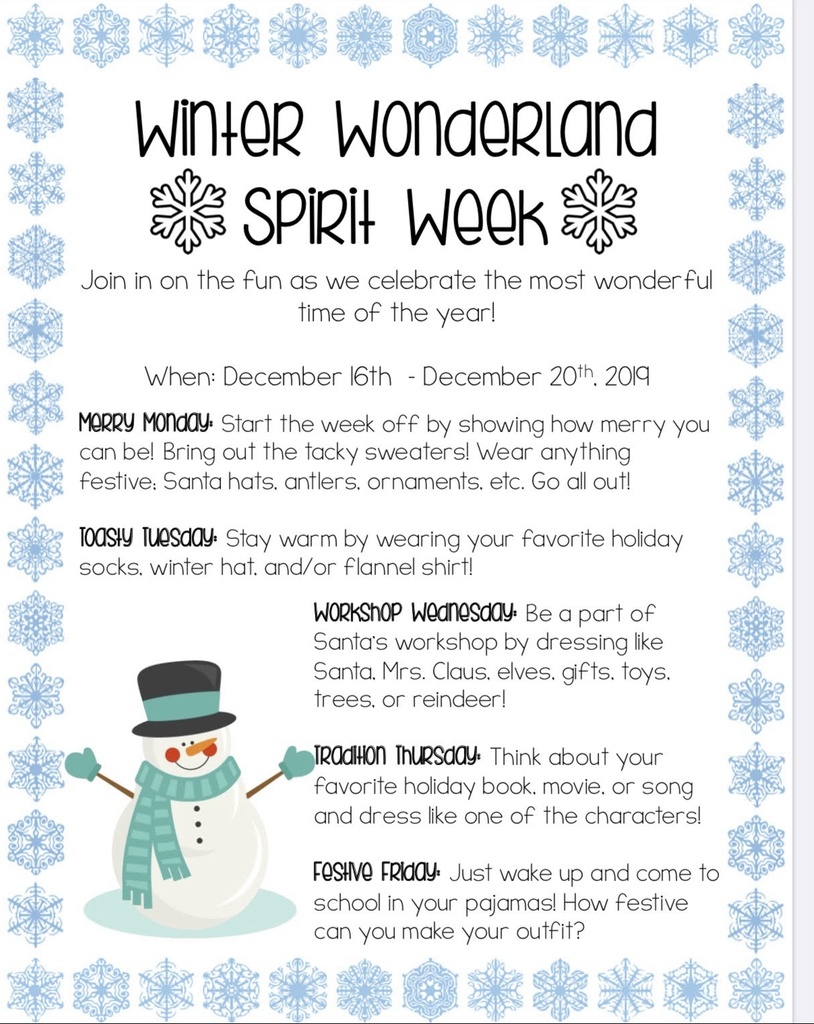 Winter Wonderland week at EES