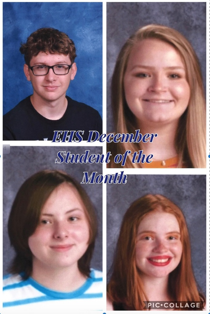 EHS December Student of the Month