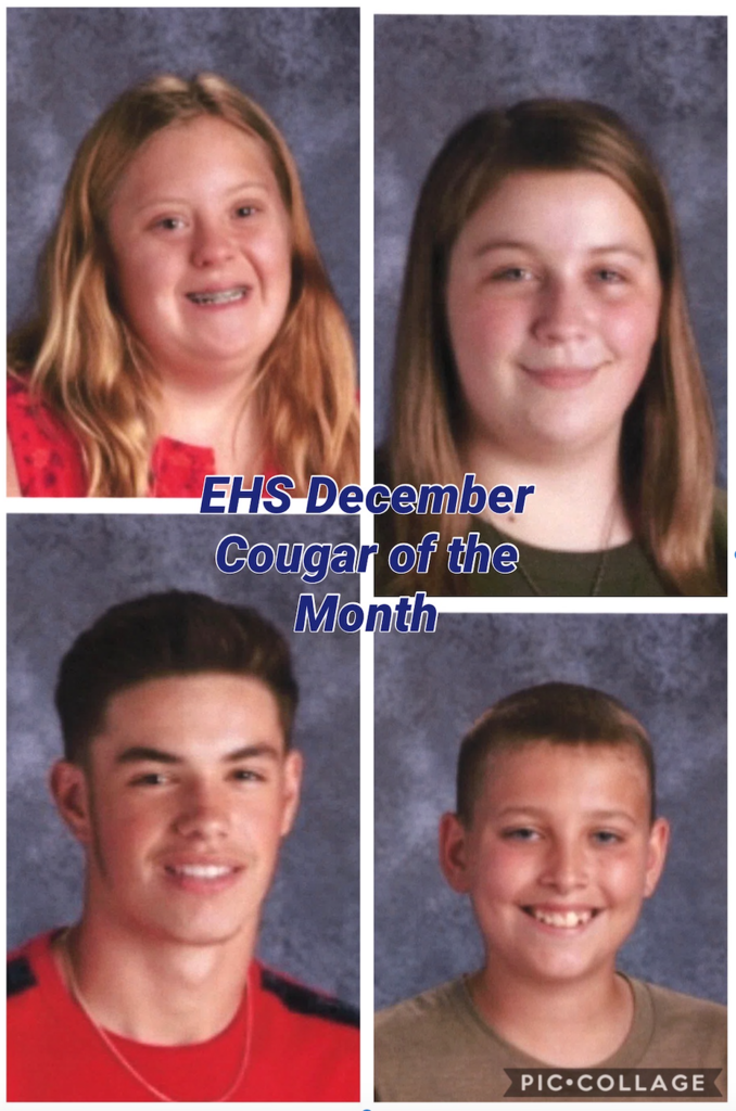 EHS December Cougar of the Month