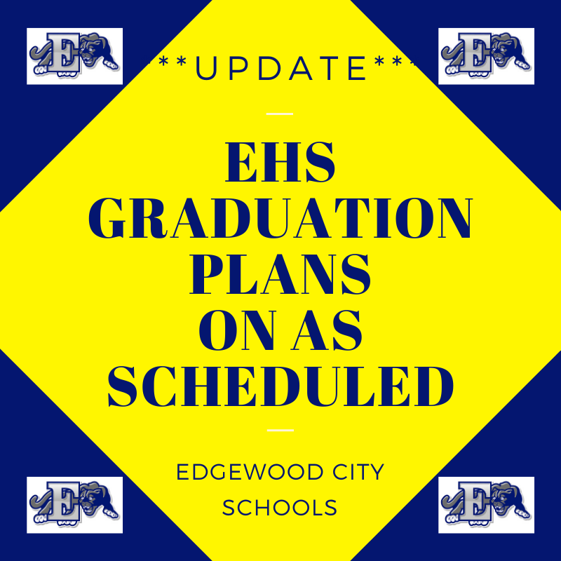 Graduation Plans on as Scheduled