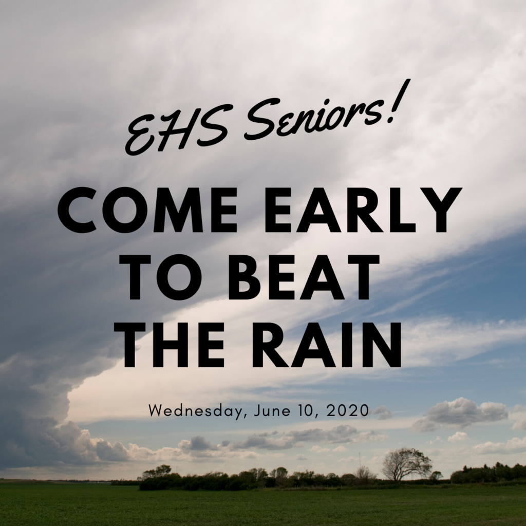 Come Early to Beat the Rain graphic