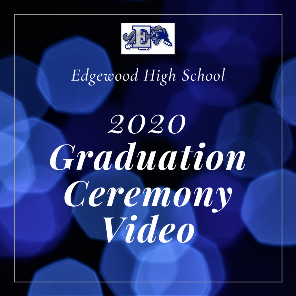 EHS Graduation video graphic