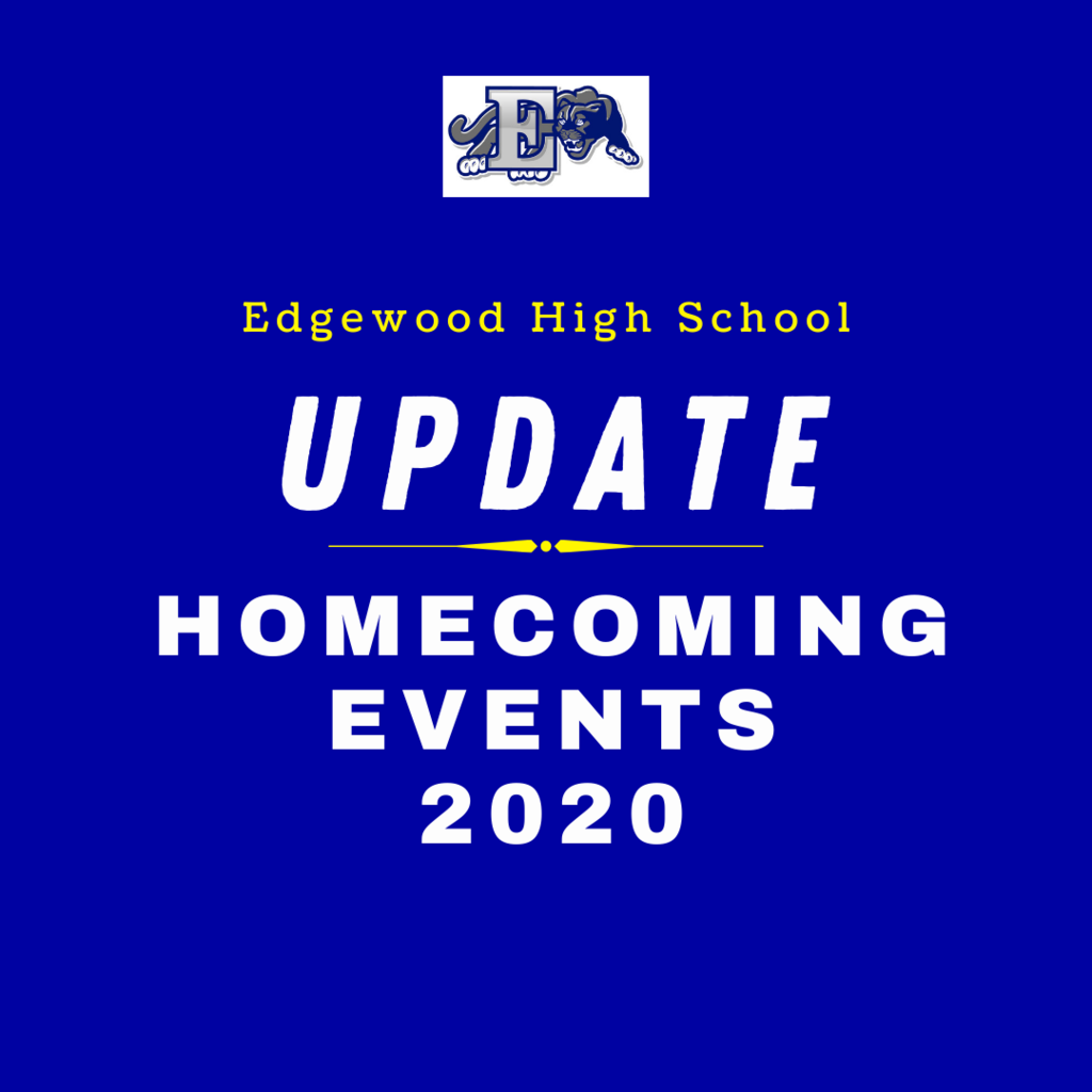 Homecoming Events graphic