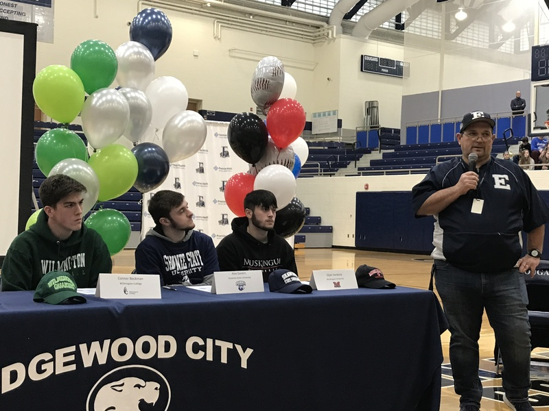 EHS College Signing Event