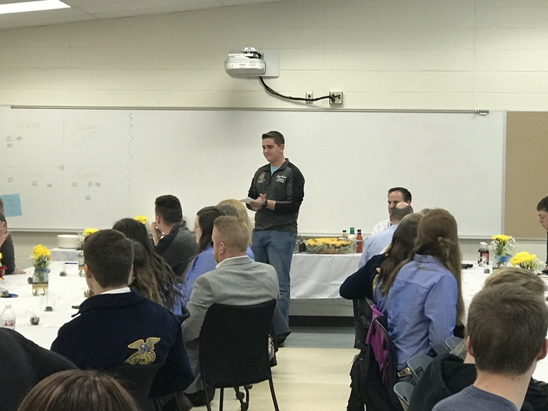 FFA National Officers Visit