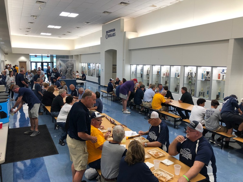 Pre-game Dinner for 50th Anniversary Football Game