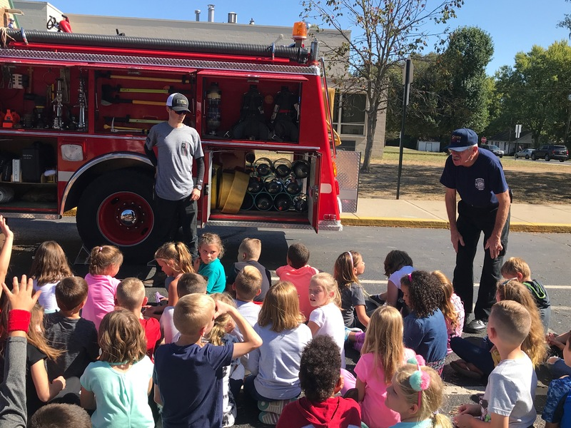 Fire Safety Week demonstration