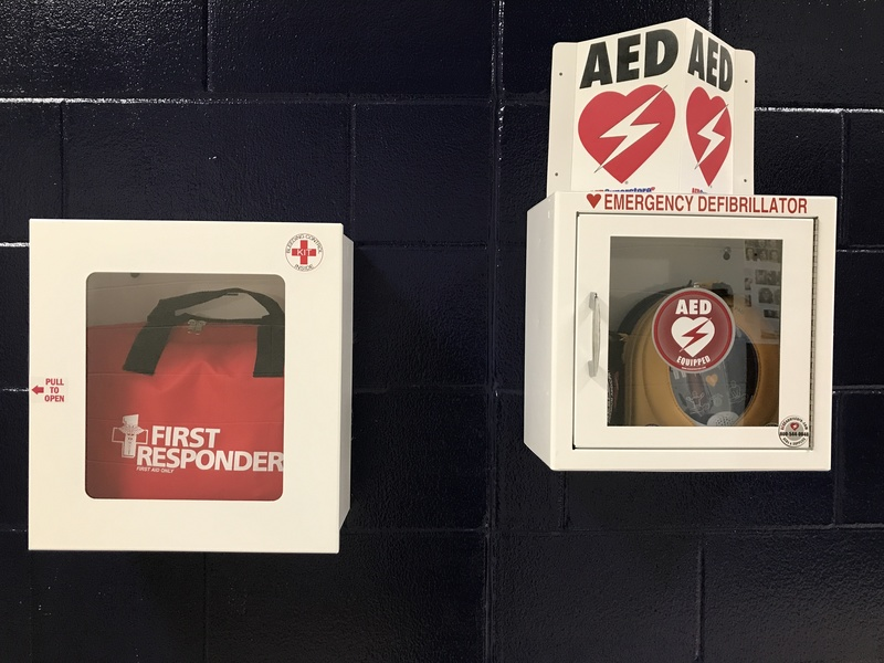 Stop the Bleed and AED Kits